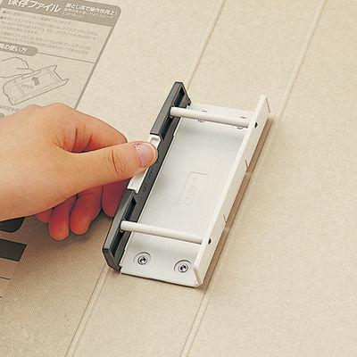 キングジム 保存ファイル(片開き) A4タテ とじ厚50mm 背幅65mm 青 4375アオ 1冊