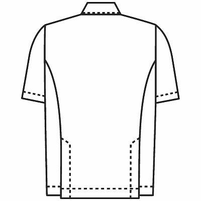 KAZEN 医務衣(男女兼用) ベージュ 762-74-S 1枚 (直送品)