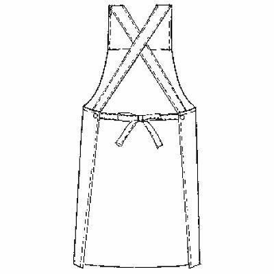 KAZEN エプロン うさぎ柄(イエロー) フリーサイズ 144-74 (直送品)