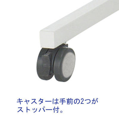 SCキャスター付デスク 幅1400mm