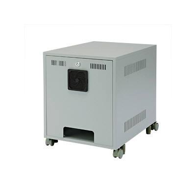 サンワサプライ 省スペース19インチボックス(6U) CP-027K (直送品)
