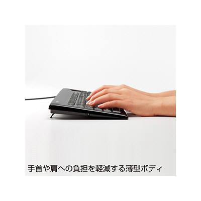 サンワサプライ パンタグラフキーボード ブラック SKB-SL15BK (取寄品)