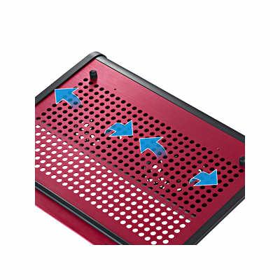 サンワサプライ ノート用クーラーパッド レッド TK-CLN16U2RN (取寄品)