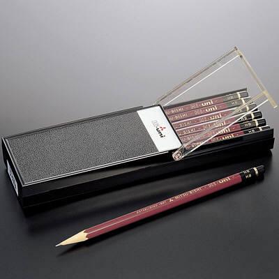 三菱鉛筆(uni) ハイユニ 2B HU2B 1箱(6ダース入:12本×6) (取寄品)