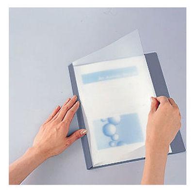 製本ファイル A4縦 グレー 20冊