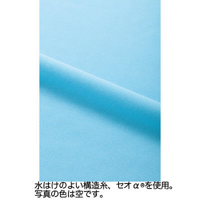 カーシーカシマ ポロシャツ 空 S HM-2439c/6 S (取寄品)