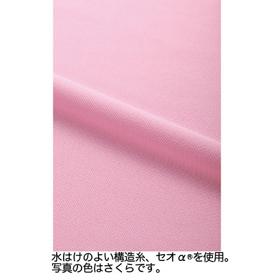 カーシーカシマ ポロシャツ 草原 5L HM-2449c/4 5L (取寄品)