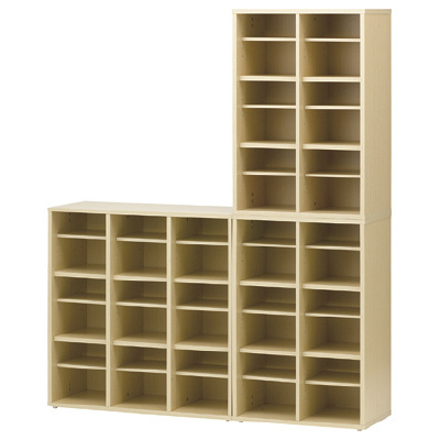Adatto 木製スリッパ&シューズラック 3段2列 shoes rack-2 1台