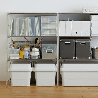 PPケース・引出式 浅型3段6個/仕切付