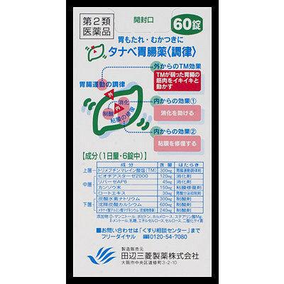 タナベ胃腸薬<調律> 60錠