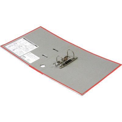 レバー式アーチファイル A4タテ 背幅50mm 10冊 レッド SGLAF5RD ハピラ