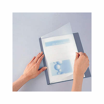 製本ファイル A3横 青 20冊