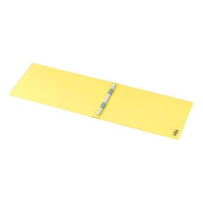 フラットファイルPP製 A4横 黄10冊
