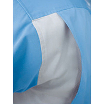 明石スクールユニフォームカンパニー レディース半袖ブルゾン グリーン 9 UN3391-10-9 (直送品)