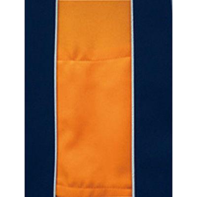 明石スクールユニフォームカンパニー 男女兼用半袖ブルゾン ブルー L UN795-6-L (直送品)