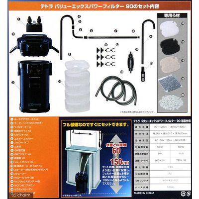 スペクトラム ブランズ ジャパン バリューエックスパワーフィルター VX-90 ろ材付きセット 183151