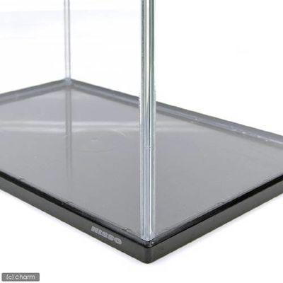 マルカン カラースリー(ブラック)Lサイズ 40cm水槽(単体)フタ付 13739
