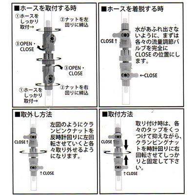 アズージャパン AJ ダブルタップ コネクター 16/22 333320