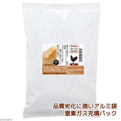 国産 鶏すじ肉のジャーキー 30g アルミパック 犬猫用 213003 1セット(3個入)