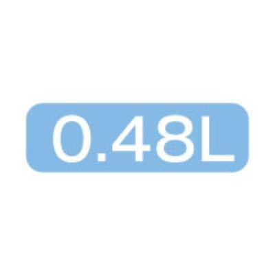 ワンプッシュボトル 0.48L ホワイト
