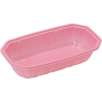 パックスタイル 使い捨て 野菜 果物容器 PS BPフルーツ 2M ピンク 00470087 1包:1000枚(100×10) (直送品)