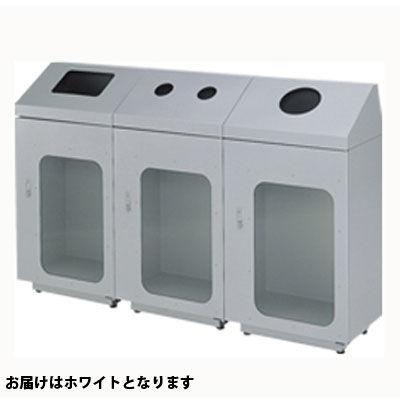 ぶんぶく リサイクルトラッシュ窓付一般ゴミ・ホワイト OSE-19 (直送品)