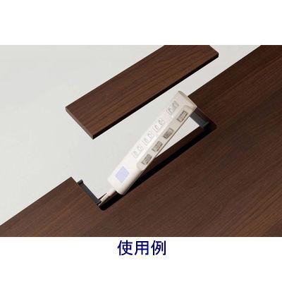 岡村製作所(オカムラ) ファルテ2 コアデスク1200 平机 引出し無し ダーク 幅1200×奥行600×高さ720mm 1台 (直送品)