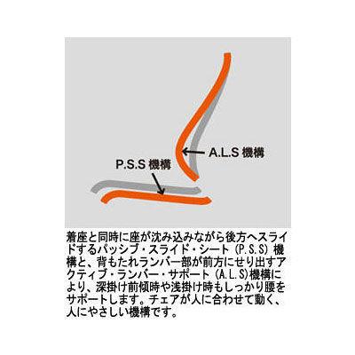 イトーキ スピーナチェア アジャスタブル肘付 レザータイプ ブラック KE-717LE-Z5T1 (直送品)
