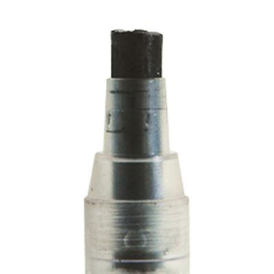 シンワ測定 工事用 ノック式クレヨン 7.0mm 黒 78463 1セット(10本) (直送品)