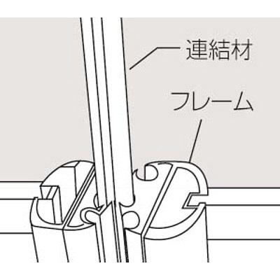 岡村製作所 インタールード パネルシステム R(曲線)パネル 幅600×高さ1500mm (直送品)