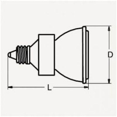 ウシオ ダイクロイックミラー付きハロゲンランプ JDRφ35 110V 35W 広角 E11口金 JDR110V35WLW K3