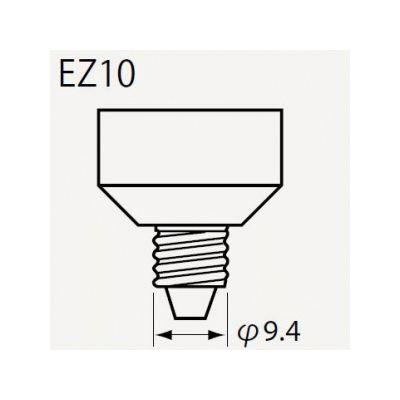 潮 ハロゲンランプ JRφ50 12V 85W形 超広角 ビーム角60°EZ10口金 JR12V60WLWWKEZ-H