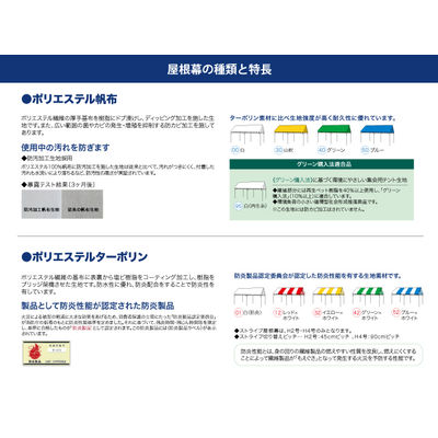 ogawa(オガワ) 集会用テント ニュークイックフレーム H5号 白 屋根幕セット 6825-00(直送品)