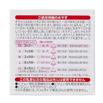 母乳実感乳首 新生児~SSサイズ 1個入