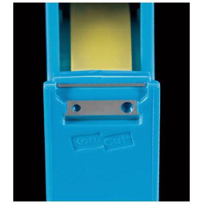 テープカッター カルカット小巻き 青