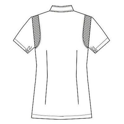 フォーク 女子医務衣(ケーシージャケット) 2010CR ネイビー L