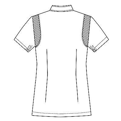 フォーク 女子医務衣(ケーシージャケット) 2010CR ネイビー M