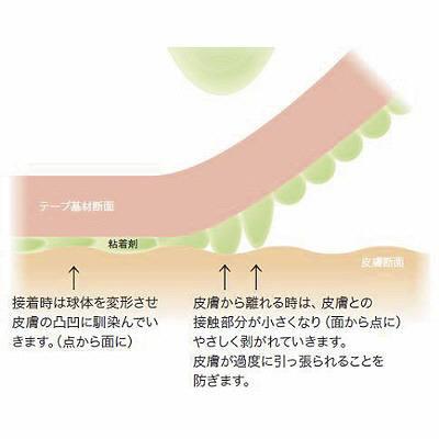 スリーエム ジャパン 3M ベビースキンサージカルテープ 50mm×7m 1750-2 1箱(6巻入)