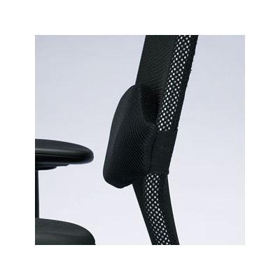 サンワサプライ 低反発ウレタンメッシュ オフィスチェア 肘付 SNC-NET4BKN2 1脚 (直送品)