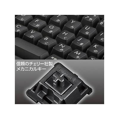 サンワサプライ メカニカルキーボード ブラック SKB-MK2BK (取寄品)