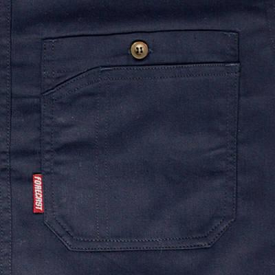 カジメイク ボタンダウンシャツ ネイビー L (取寄品)