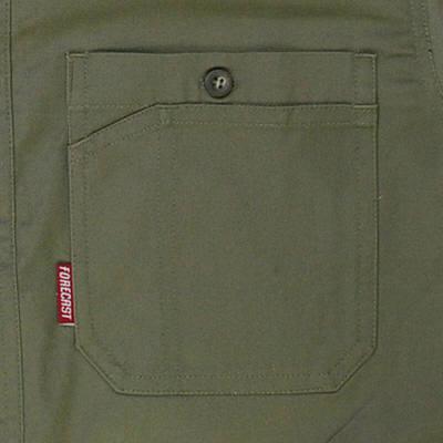 カジメイク ボタンダウンシャツ ダークグリーン M (取寄品)