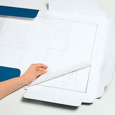 キングジム 図面ファイルGS A1サイズ用・2つ折 厚型 青 1181