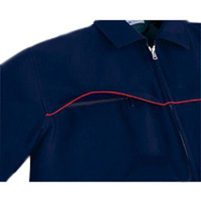 明石スクールユニフォームカンパニー 男女兼用半袖ジャケット ブルー LL UN791-6-LL (直送品)