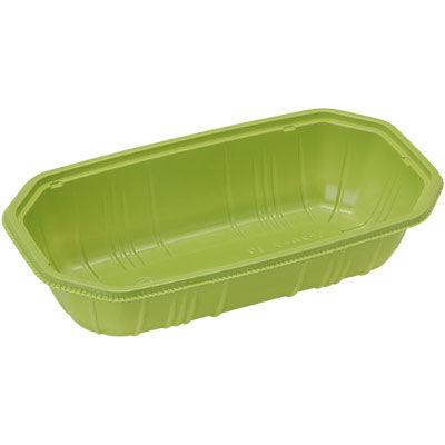 パックスタイル 使い捨て 野菜 果物容器 PS BPフルーツ 2M グリーン 00470088 1包:1000枚(100×10) (直送品)