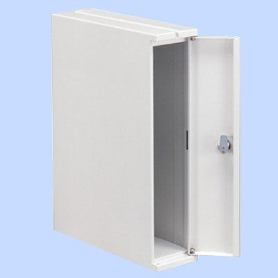 ぶんぶく 機密書類回収ボックス デスクサイド ホワイト KIM-S-8 (直送品)