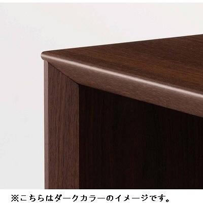 岡村製作所(オカムラ) ファルテ2 シンプルデスク 平机 引出し無し ナチュラル 幅1500×奥行500×高さ720mm 1台 (直送品)