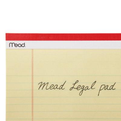 Mead ジュニア リーガルパッド MLP59600 アコ・ブランズ・ジャパン  5冊 (直送品)