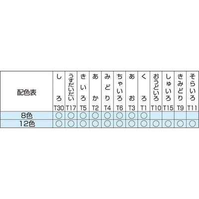 寺西化学工業 ギター 固型えのぐ 8色セット EKOKE-8 3個 (直送品)