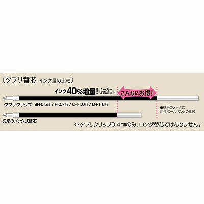 ゼブラ タプリクリップボールペン 0.7mm 青 BN5-BL 1セット(50本:10本入×5箱)